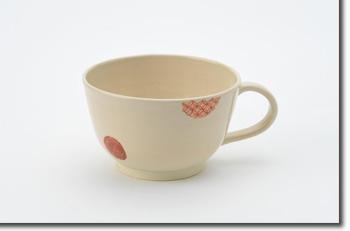 京焼・清水焼 抹茶ボウル 丸紋